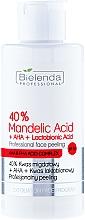 "Fragrances, Perfumes, Cosmetics Professional Peeling ""40% Mandelic Acid + AHA + Lactobionic Acid"" - Bielenda Professional Exfoliation Face Program 40% Mandelic Acid + AHA + Lactobionic Acid"