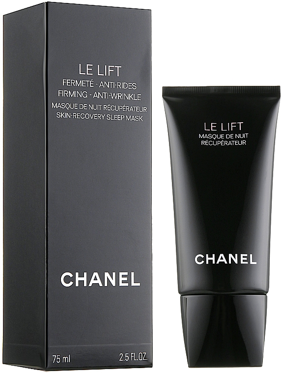 Night Face Mask - Chanel Le Lift Firming Anti Wrinkle Skin-Recovery Sleep Mask