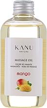 "Fragrances, Perfumes, Cosmetics Massage Oil ""Mango"" - Kanu Nature Mango Massage Oil"