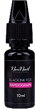 Fragrances, Perfumes, Cosmetics Rapidograph Ink, black - NeoNail Professional Black Ink For Rapidograph