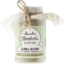 Fragrances, Perfumes, Cosmetics Moroccan Green Clay - Beaute Marrakech Green Clay