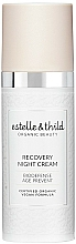 Fragrances, Perfumes, Cosmetics Recovery Night Cream - Estelle & Thild BioDefense Instant Recovery Night Cream