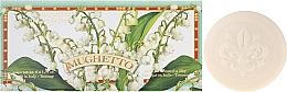 "Fragrances, Perfumes, Cosmetics Toilet Soap Set ""Lily Of The Valley"" - Saponificio Artigianale Fiorentino Lily Of The Valley (Soap/6x50g)"