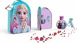 Fragrances, Perfumes, Cosmetics Disney Frozen II - Set (edt/100ml + lipgloss/6ml + bag)