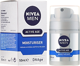 Fragrances, Perfumes, Cosmetics Anti-Aging Cream - Nivea For Men Aktive Age Moisturiser Cream
