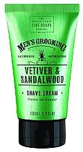 Fragrances, Perfumes, Cosmetics Vetiver & Sandalwood Shave Cream - Scottish Fine Soaps Vetiver & Sandalwood Shave Cream