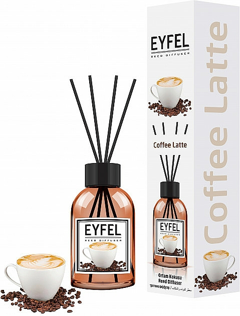Aromadiffuser 'Coffee' - Eyfel Perfume Reed Diffuser Coffee