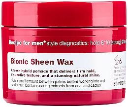 Fragrances, Perfumes, Cosmetics Sheen Wax - Recipe for Men Bionic Sheen Wax