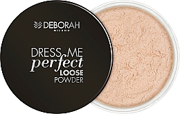 Fragrances, Perfumes, Cosmetics Face Loose Powder - Deborah Dress Me Perfect Loose Powder
