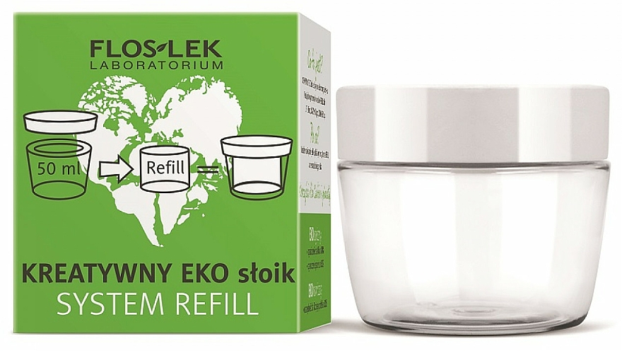 Universal Eco Jar for Cream - Floslek Creative Eco Jar System Refill