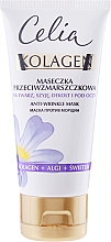 Fragrances, Perfumes, Cosmetics Anti-Wrinkle Face Mask - Celia Collagen Mask
