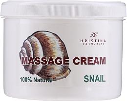 Fragrances, Perfumes, Cosmetics Massage Face & Body Cream - Hristina Cosmetics Massage Snail Cream
