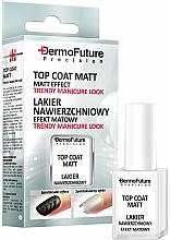 Fragrances, Perfumes, Cosmetics Matte Top Coat - Dermofuture Precision Top Coat Matt