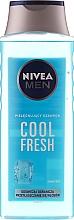 "Fragrances, Perfumes, Cosmetics Men Shampoo ""Extreme Fresh"" - Nivea For Men Cool Fresh Mentol Shampoo"