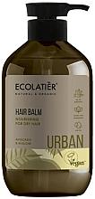 """Fragrances, Perfumes, Cosmetics Nourishing Balm for Dry Hair """"Avocado & Mallow"""" - Ecolatier Urban Hair Balm"""