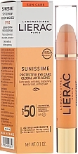 Fragrances, Perfumes, Cosmetics Eye Balm - Lierac Sunissime Protective Eye Care Anti-Age Global SPF50