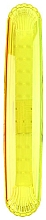Fragrances, Perfumes, Cosmetics Toothbrush Case 9333, transparent yellow - Donegal