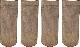 "Women Socks ""Fit"" 2 pairs, beige - Knittex — photo N1"