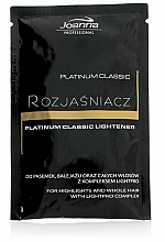 Fragrances, Perfumes, Cosmetics Hair Bleach - Joanna Professional Platinum Classic Lightener (sachet)