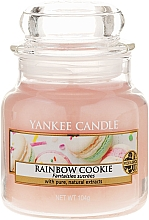 Fragrances, Perfumes, Cosmetics Scented Candle in Glass Jar - Yankee Candle Rainbow Cookie