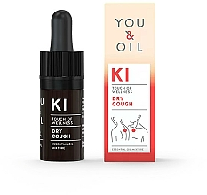 Fragrances, Perfumes, Cosmetics Essential Oil Blend - You & Oil KI-Dry Cough Touch Of Welness Essential Oil