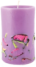 "Fragrances, Perfumes, Cosmetics Scented Candle ""Blossoming Garden"" - Bulgarian Rose Flower Garden"