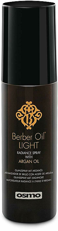 Hair Spray - Osmo Berber Oil Light Radiance Hairspray — photo N1
