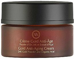 Fragrances, Perfumes, Cosmetics Anti-Aging Face Cream - Innossence Innor Gold Anti-Aging Cream