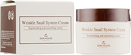 Fragrances, Perfumes, Cosmetics Anti-Aging Snail Face Cream - The Skin House Wrinkle Snail System Cream