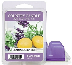Fragrances, Perfumes, Cosmetics Wax for Aroma Lamp - Country Candle Lemon Lavender Wax Melts