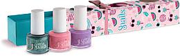 Fragrances, Perfumes, Cosmetics Kids Nail Polish Set 3x7ml - Snails Mini Bebe Berry-Licious
