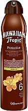 Fragrances, Perfumes, Cosmetics Protective Dry Oil - Hawaiian Tropic Protective Dry Oil Continuous Spray Aragan Oil SPF 6