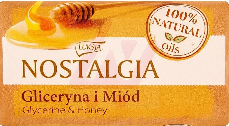 "Soap ""Glycerin & Honey"" - Luksja Nostalgia Glycerin & Honey Soap"