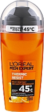 Fragrances, Perfumes, Cosmetics Roll-On Deodorant - L'Oreal Paris Men Expert Thermic Resist Clean Cool Deo Roll-On