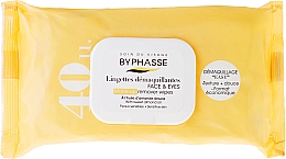 Fragrances, Perfumes, Cosmetics Makeup Remover Wipes - Byphasse Make-up Remover Sweet Almond Oil Wipes
