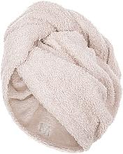 Fragrances, Perfumes, Cosmetics Hair Drying Turban, beige - MakeUp
