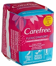 Fragrances, Perfumes, Cosmetics Hygienic Daily Pads - Carefree Flexi Comfort Pantyliners With Soft Scent