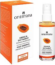 Fragrances, Perfumes, Cosmetics Face Essence-Mask - Orientana Bio Essence-Mask Papaya & Turmeric