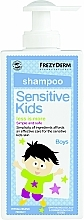 Fragrances, Perfumes, Cosmetics Shampoo - Frezyderm Sensitive Kids Shampoo for Boys