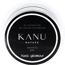 Fragrances, Perfumes, Cosmetics Normal Hair Shampoo in Metal Box - Kanu Nature Shampoo Bar Toxic Glamour For Normal Hair