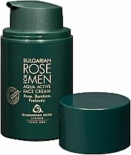 Fragrances, Perfumes, Cosmetics Moisturizing Shampoo for Men - Bulgarian Rose For Men Aqua Active Face Cream
