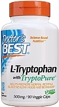 Fragrances, Perfumes, Cosmetics L-Tryptophan Amino Acid with TryptoPure, 500 mg, capsules - Doctor's Best