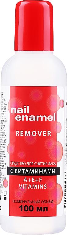Vitamin Nail Polish Remover - Venita Vitamin A+E+F Nail Enamel Remover