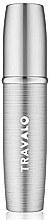 Fragrances, Perfumes, Cosmetics Atomizer, silver - Travalo Lux Silver Refillable Spray