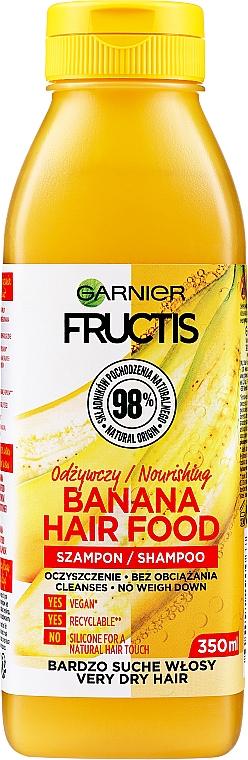 Nourishing Banana Shampoo for Very Dry Hair - Garnier Fructis Superfood