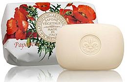 """Fragrances, Perfumes, Cosmetics Natural Soap """"Poppy"""" - Saponificio Artigianale Fiorentino Poppy Soap"""