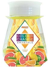 Fragrances, Perfumes, Cosmetics Crystals Citrus Zing Gel Air Freshener - Airpure Colour Change Crystals Citrus Zing