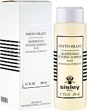 Fragrances, Perfumes, Cosmetics Lightening Toning Lotion - Sisley Phyto-Blanc Lightening Toning Lotion