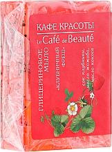 "Fragrances, Perfumes, Cosmetics Glycerin Soap ""Strawberry Fresh"" - Le Cafe de Beaute Glycerin Soap"