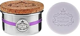 Fragrances, Perfumes, Cosmetics Natural Soap - Essencias De Portugal Tradition Aluminum Jewel-Keeper Lavender